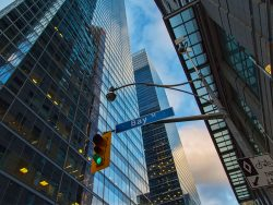 Downtown office buildings Toronto