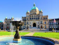 British Columbia provincial parliament building, Victoria, BC