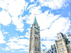 The Center Block and the Peace Tower in Parliament Hill