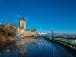 Frontenac Castle and Dufferin Terrace - Quebec City