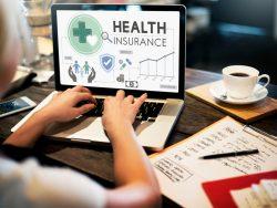 Health Insurance Assurnace computer laptop