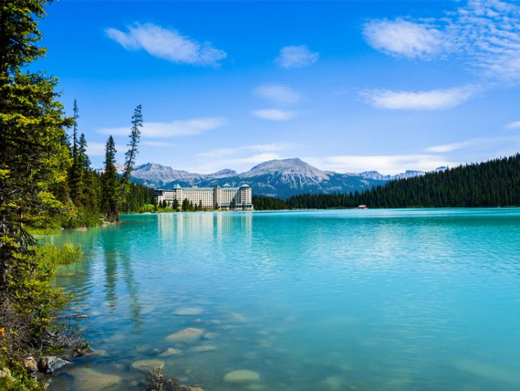 Lake Louise and Fairmont Chateau Alberta, Canada