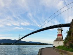 Lions Gate Bridge and Grouse Mountain, Vancouver