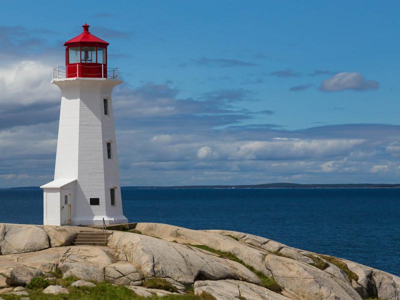 Peggy's Cove Lighthouse Nova Scotia