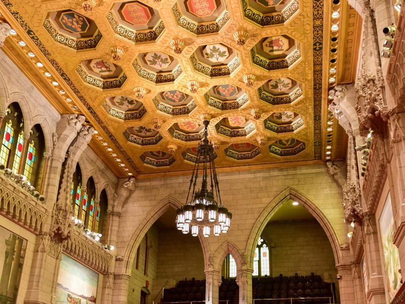 Senate of Parliament Building, Ottawa, Canada