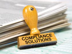 compliance solutions rubber stamp