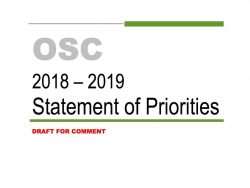 OSC draft stament of priorities cover