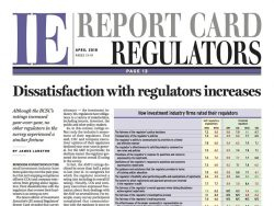 Regulators Report Card masthead April 2018