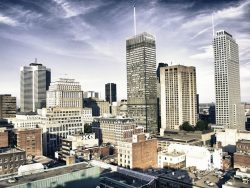 buildings and architecture of montreal, quebec