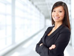 East Asian woman young professional