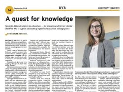 September 2018, page 24, image of Jennifer Ridedout