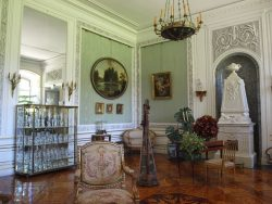 interior of lancut palace, poland
