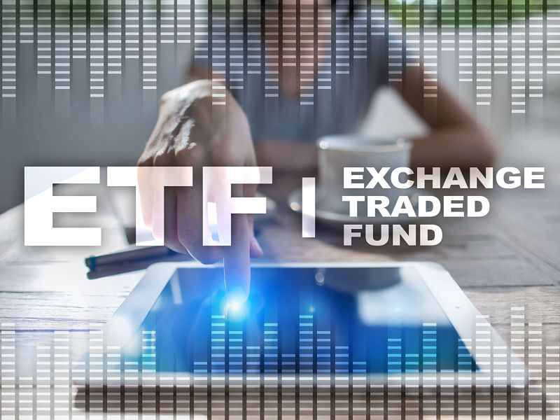 89530191 - etf. exchange traded fund. business, internet and technology concept.