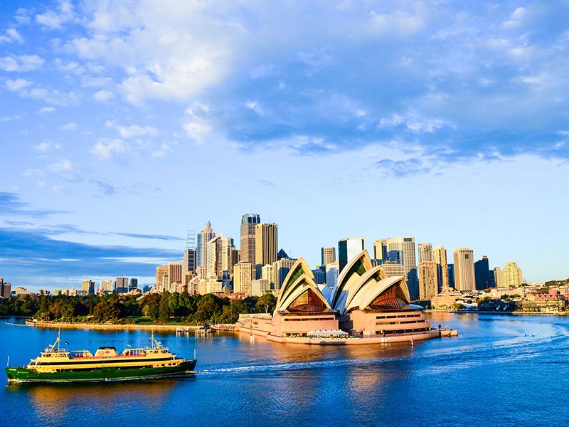 Australia - Sydney Opera House and City