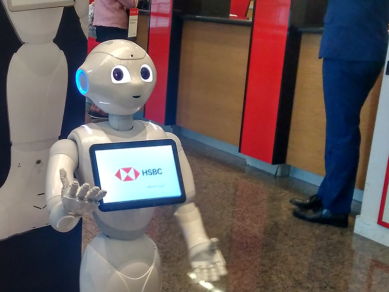 Pepper the HSBC robot