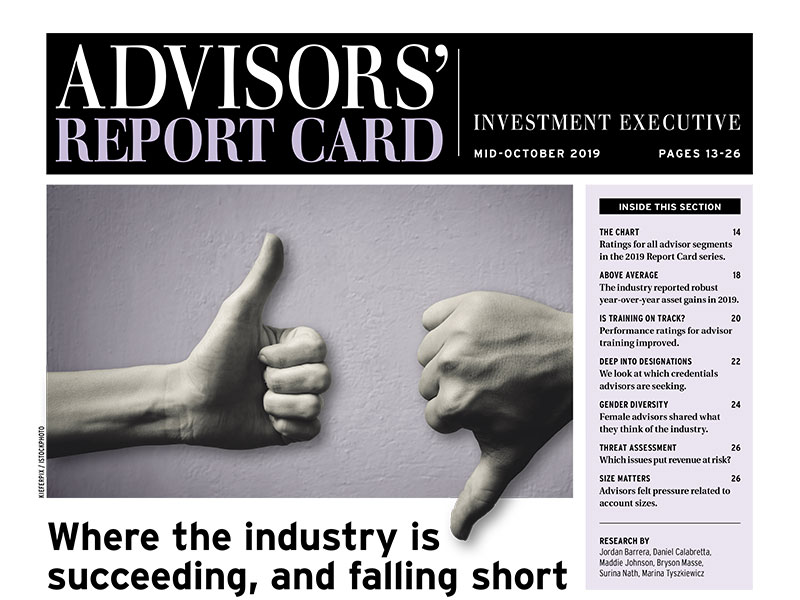 IE Advisor's Report Card 2019 Cover
