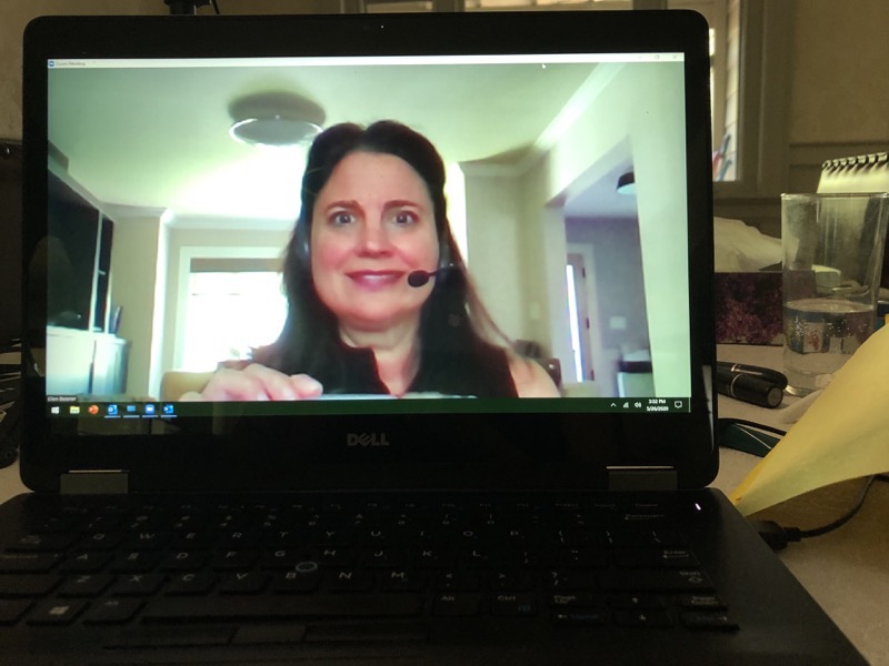 Ellen Bessner video conferencing