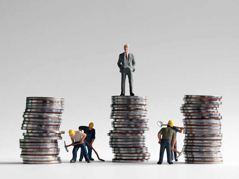 inequality between leader and workers