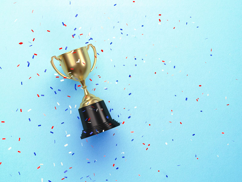 winner celebrate