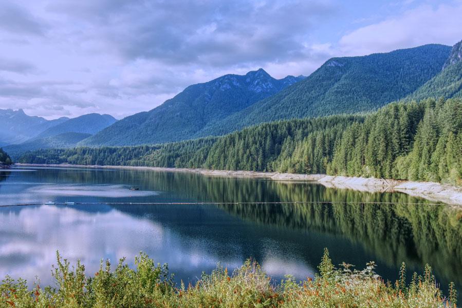 British Columbia dam