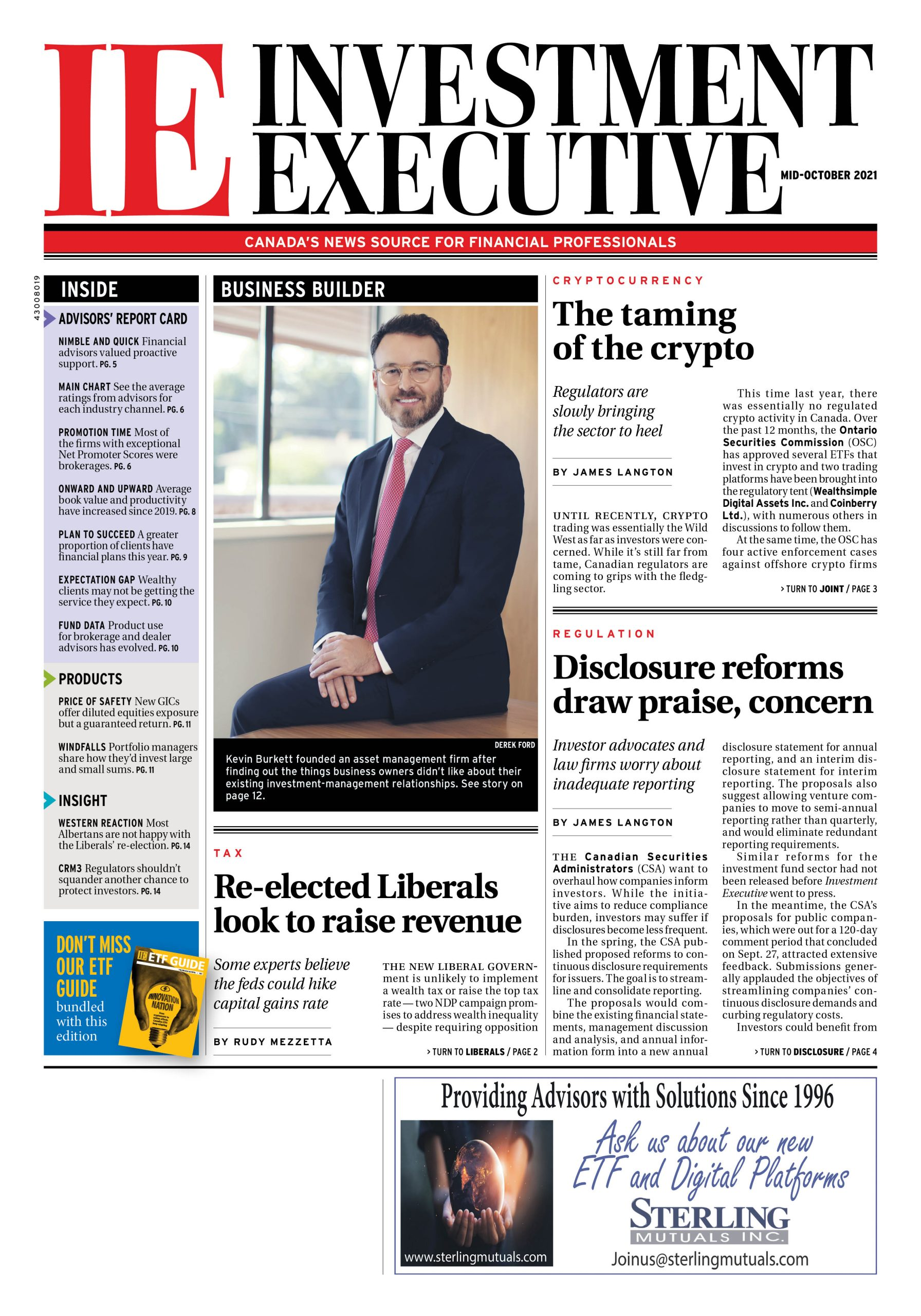 IE Mid-October newspaper cover page